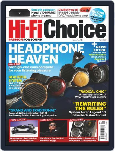 Hi-Fi Choice Magazine (Digital) April 1st, 2021 Issue Cover