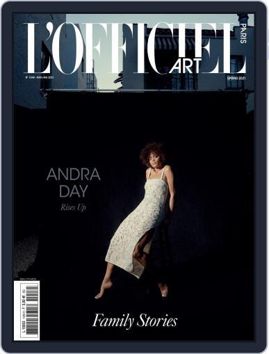 L'officiel Paris Magazine (Digital) April 1st, 2021 Issue Cover