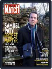 Paris Match Magazine (Digital) Subscription October 22nd, 2020 Issue