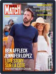 Paris Match Magazine (Digital) Subscription August 5th, 2021 Issue