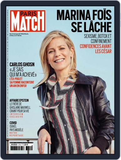 Paris Match Magazine (Digital) March 4th, 2021 Issue Cover