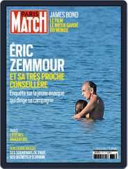 Paris Match Magazine (Digital) Subscription September 23rd, 2021 Issue