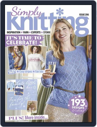 Simply Knitting Magazine (Digital) January 1st, 2021 Issue Cover