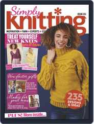 Simply Knitting Magazine (Digital) Subscription June 1st, 2021 Issue