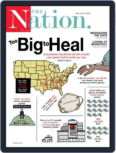 The Nation Magazine (Digital) December 14th, 2020 Issue Cover