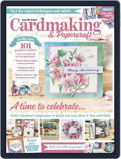 Cardmaking & Papercraft January 1st, 2020 Digital Back Issue Cover