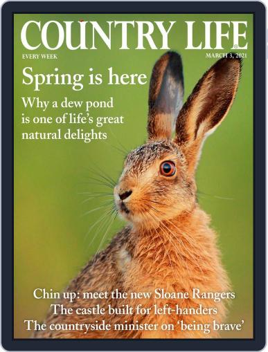 Country Life Magazine (Digital) March 3rd, 2021 Issue Cover