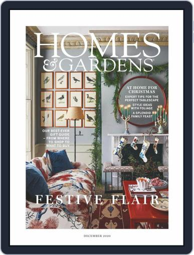 Homes & Gardens Magazine (Digital) December 1st, 2020 Issue Cover