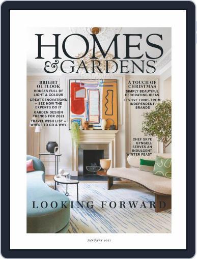 Homes & Gardens Magazine (Digital) January 1st, 2021 Issue Cover