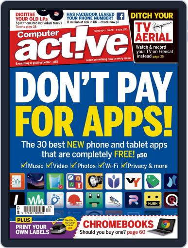 Computeractive Magazine (Digital) April 21st, 2021 Issue Cover