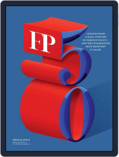 Foreign Policy Magazine (Digital) January 12th, 2021 Issue Cover