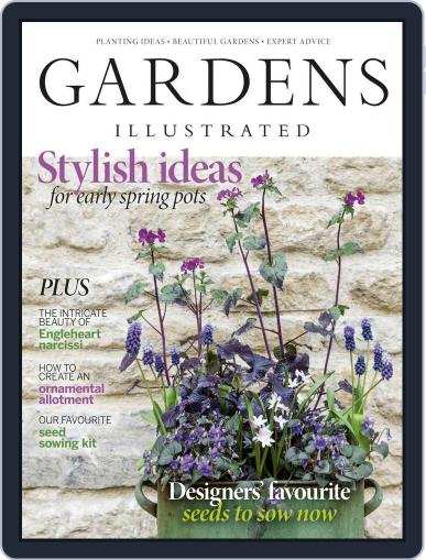 Gardens Illustrated Magazine (Digital) March 1st, 2021 Issue Cover