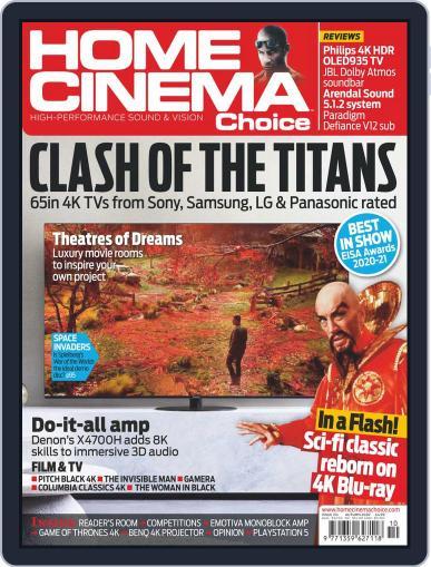 Home Cinema Choice Magazine (Digital) August 24th, 2020 Issue Cover