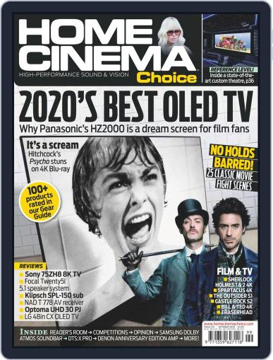 Home Cinema Choice Magazine (Digital) October 1st, 2020 Issue Cover