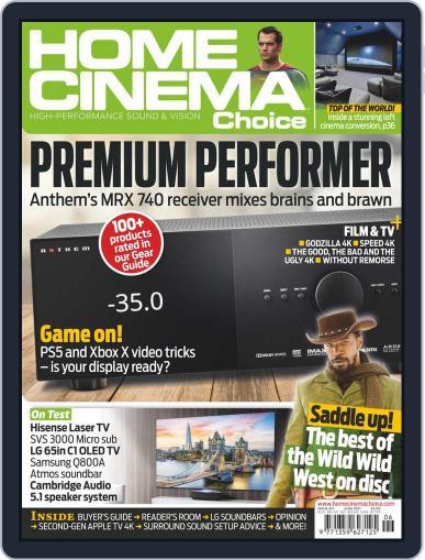 Home Cinema Choice Magazine (Digital) June 1st, 2021 Issue Cover