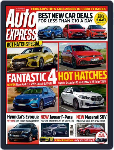 Auto Express Magazine (Digital) September 16th, 2020 Issue Cover