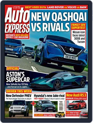 Auto Express Magazine (Digital) July 21st, 2021 Issue Cover