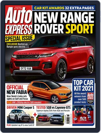 Auto Express Magazine (Digital) May 5th, 2021 Issue Cover