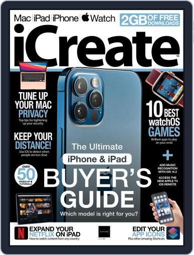 iCreate Magazine (Digital) December 1st, 2020 Issue Cover