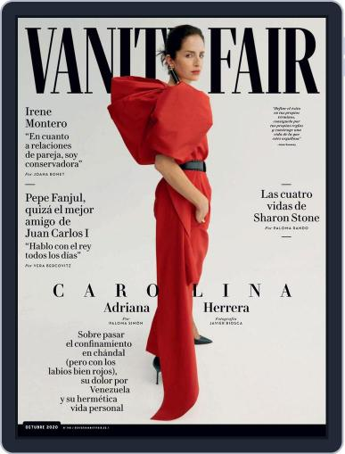 Vanity Fair España Magazine (Digital) October 1st, 2020 Issue Cover
