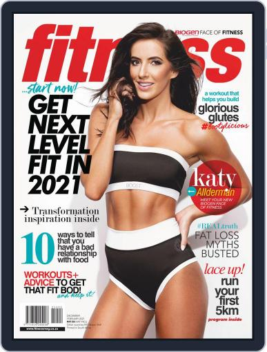 Fitness SA December 1st, 2020 Digital Back Issue Cover