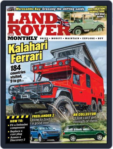 Land Rover Monthly Magazine (Digital) December 1st, 2021 Issue Cover