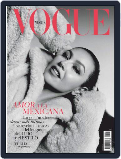 Vogue Mexico Magazine (Digital) February 1st, 2021 Issue Cover