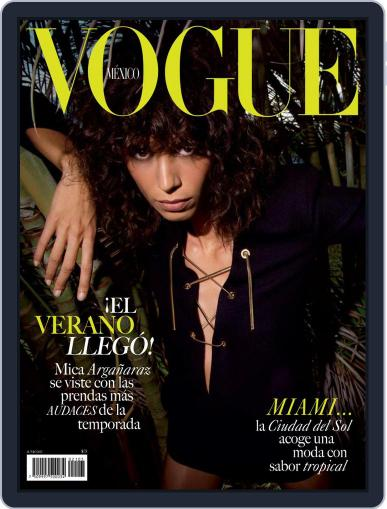 Vogue Mexico Magazine (Digital) June 1st, 2021 Issue Cover