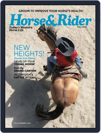 Horse & Rider Magazine (Digital) August 12th, 2020 Issue Cover