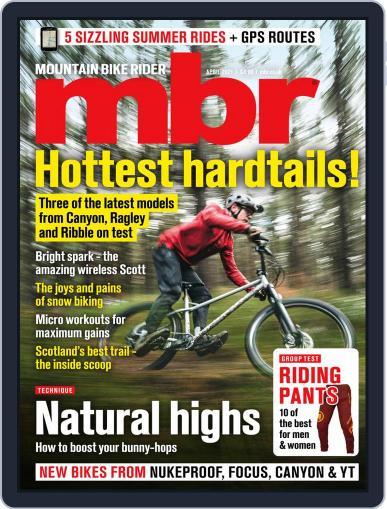Mountain Bike Rider Magazine (Digital) April 1st, 2021 Issue Cover