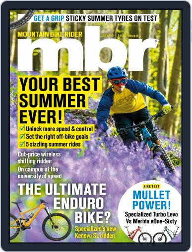 Mountain Bike Rider Magazine (Digital) July 1st, 2021 Issue Cover