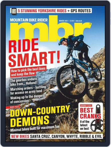 Mountain Bike Rider Magazine (Digital) March 1st, 2021 Issue Cover