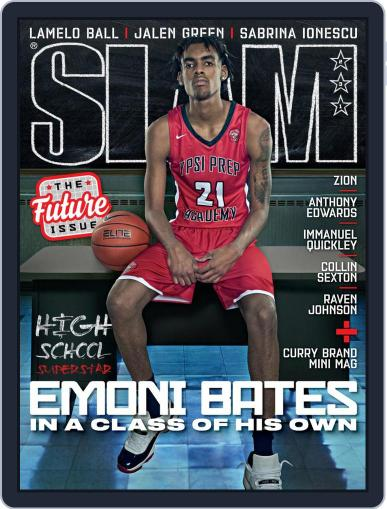 Slam Magazine (Digital) April 1st, 2021 Issue Cover
