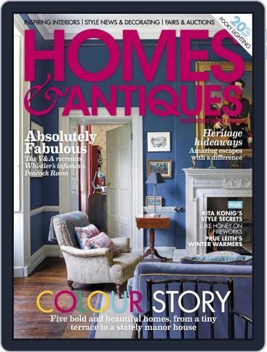 Homes & Antiques Magazine (Digital) November 1st, 2020 Issue Cover