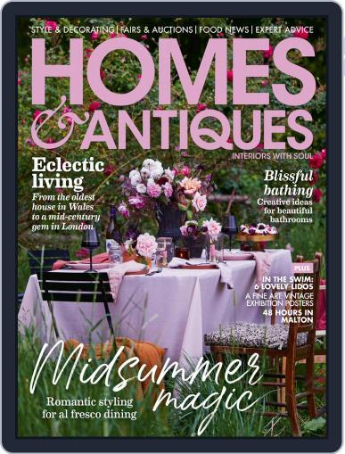 Homes & Antiques Magazine (Digital) June 1st, 2021 Issue Cover