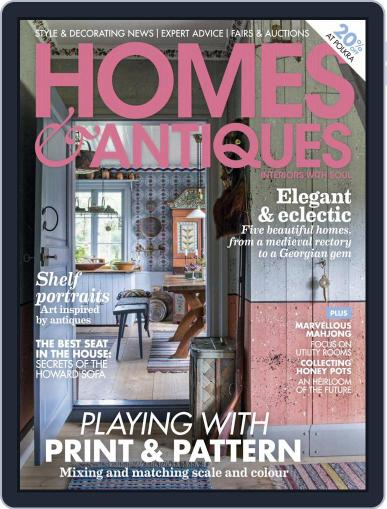 Homes & Antiques Magazine (Digital) March 1st, 2021 Issue Cover