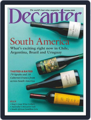 Decanter Magazine (Digital) October 1st, 2020 Issue Cover