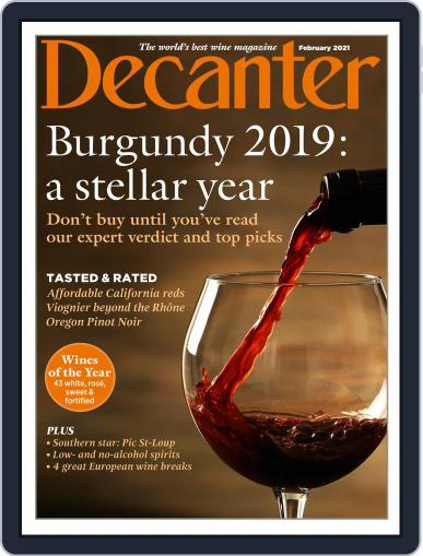 Decanter Magazine (Digital) February 1st, 2021 Issue Cover
