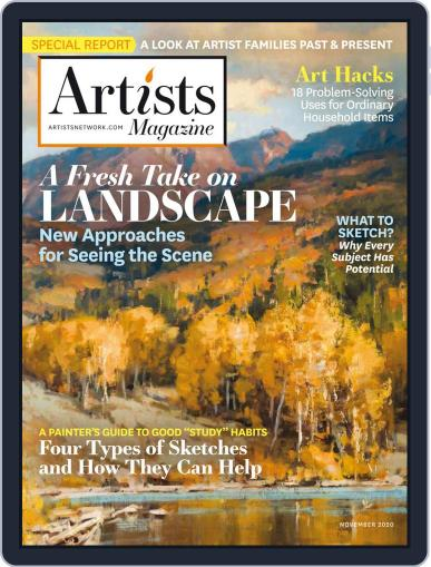 Artists Magazine (Digital) November 1st, 2020 Issue Cover