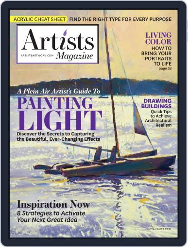 Artists Magazine (Digital) July 1st, 2021 Issue Cover
