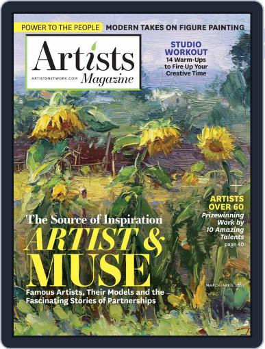 Artists Magazine (Digital) March 1st, 2021 Issue Cover