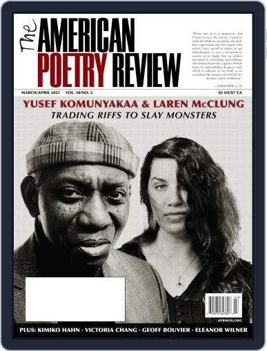 The American Poetry Review Magazine (Digital) March 1st, 2021 Issue Cover
