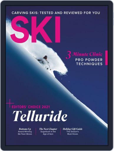 Ski Magazine (Digital) December 1st, 2020 Issue Cover