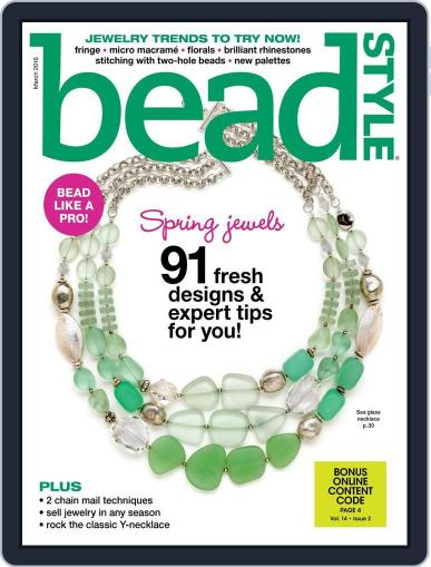 Bead Style (Digital) January 22nd, 2016 Issue Cover