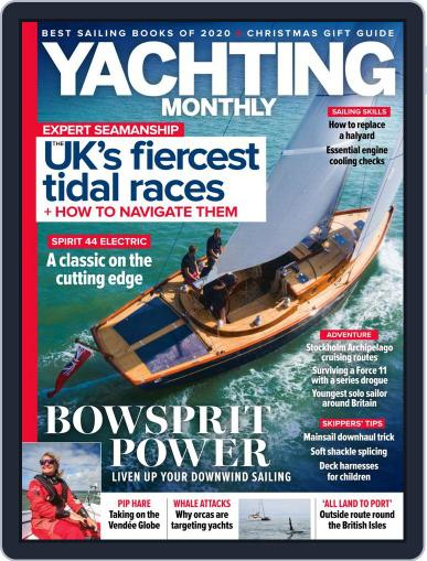 Yachting Monthly Magazine (Digital) December 1st, 2020 Issue Cover