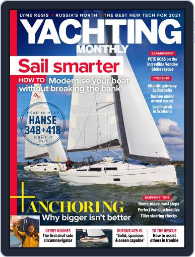 Yachting Monthly Magazine (Digital) February 1st, 2021 Issue Cover