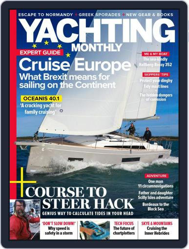 Yachting Monthly Magazine (Digital) January 1st, 2021 Issue Cover
