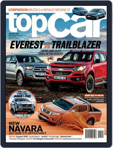 topCar (Digital) January 1st, 2017 Issue Cover