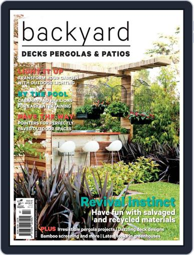 Decks, Pergolas & Patios June 14th, 2017 Digital Back Issue Cover
