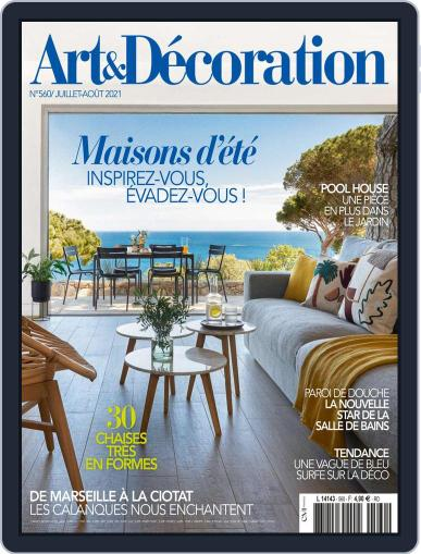 Art & Décoration Magazine (Digital) July 1st, 2021 Issue Cover